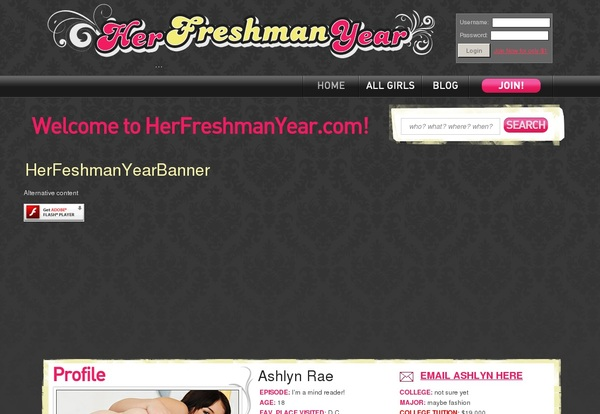 Herfreshmanyear.com Recent