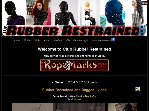 Login For Clubrubberrestrained